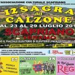 Sagra del Calzone a Scapriano dal 23 al 29 luglio 2018