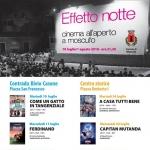 Cinema all'Aperto a Moscufo: Effetto Notte dal 10 luglio al 1° agosto 2018