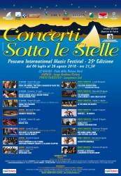 Concerti Sotto le Stelle - Pescara International Music Festival 2018