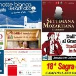 Eventi in Abruzzo dal 13 al 15 luglio 2018