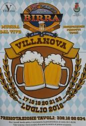 Festa della Birra a Villanova di Cepagatti dal 17 al 22 luglio 2018