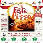 Festa della Pizza a Montorio al Vomano dal 12 al 15 luglio 2018