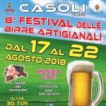 Festival delle Birre Artigianali a Casoli di Atri dal 17 al 22 agosto 2018