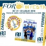 Foro in Festa 2018 a Francavilla al Mare con Michele Zarrillo e Giusy Ferreri