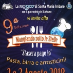 Mangiando sotto le Stelle a Santa Maria Imbaro il 2 e 3 agosto 2018
