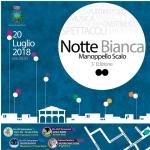 Notte Bianca a Manoppello Scalo il 20 luglio 2018