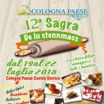 Sagra De Lu Stennmass a Cologna Paese dal 19 al 22 luglio 2018