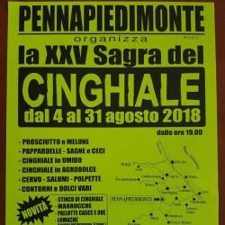 Sagra del Cinghiale 2018 a Pennapiedimonte