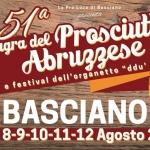 Sagra del Prosciutto Abruzzese a Basciano dall'8 al 12 agosto 2018