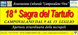 Sagra del Tartufo di Campovalano dal 9 al 15 Luglio 2018
