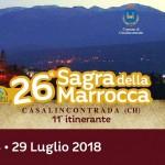 Sagra della Marrocca 2018 a Casalincontrada