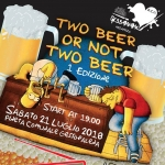 Two Beer or Not Two Beer a Gessopalena il 21 luglio 2018
