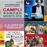 Ferragosto 2018 in Abruzzo: gli Eventi della Settimana