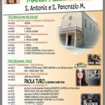 Paola Turci a Manoppello Scalo per la Festa di S.Pancrazio e S.Antonio 2018 1
