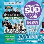 Progetto Sud Festival 2018 a San Salvo Marina: Planet Funk, Rocco Hunt e Marlene Kuntz