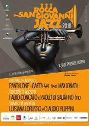 Rocca San Giovanni Jazz 2018 - Jazz meets Pop