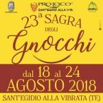 Sagra degli Gnocchi a Sant'Egidio alla Vibrata dal 19 al 24 agosto 2018
