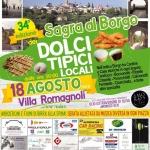 Sagra dei Dolci Tipici Locali a Villa Romagnoli il 18 agosto 2018