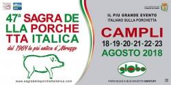 Sagra della Porchetta Italica di Campli dal 18 al 23 agosto 2018