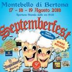 Septemberfest 2018 a Montebello di Bertona