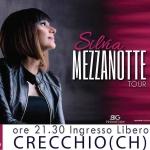 Silvia Mezzanotte a Crecchio il 27 agosto 2018