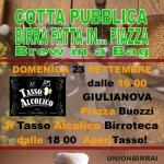 Cotta Pubblica - Birra fatta in Piazza a Giulianova il 23 settembre 2018