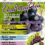 Festa dell'Uva - Uva Viva Uva 2018 a Mosciano Sant'Angelo