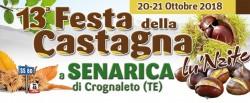 Festa della Castagna 2018 a Senarica di Crognaleto
