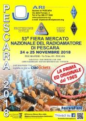 Fiera del Radioamatore di Pescara il 24 e 25 novembre 2018