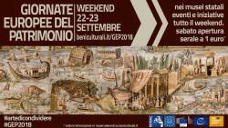 Giornate Europee del Patrimonio 2018 in Abruzzo il 22 e 23 settembre