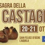 Sagra della Castagna 2018 a San Felice d'Ocre