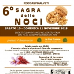 Sagra delle Noci 2018 a Roccaspinalveti