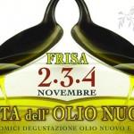 Festa dell'Olio Nuovo a Frisa dal 2 al 4 novembre 2018