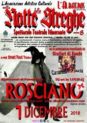 Notte delle Streghe 2018 a Rosciano