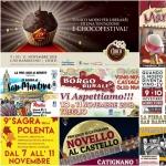 Eventi in Abruzzo dal 9 all'11 novembre 2018
