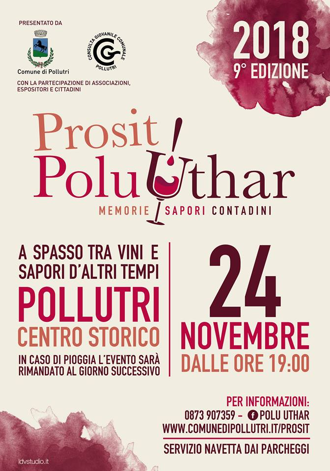 Prosit! Polu Uthar a Pollutri il 24 novembre 2018 1