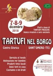 Tartufi nel Borgo a Sant'Omero dal 7 al 9 dicembre 2018