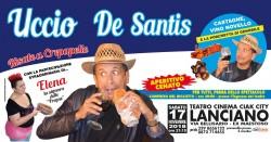 Uccio De Santis a Lanciano il 17 novembre 2018