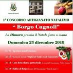 """1° Concorso Artigianato Natalizio """"Borgo di Cugnoli"""""""