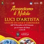 Luci d'Artista 2018 a Chieti: Accendiamo il Natale