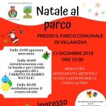 Natale al Parco a Villanova di Cepagatti il 15 dicembre 2018