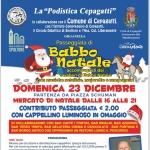 Passeggiata di Babbo Natale 2018 a Cepagatti