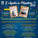 Carnevale 2019 L'Aquila in Maschera