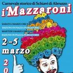 Carnevale a Schiavi d'Abruzzo con i Mazzaroni il 2 e 5 marzo 2019