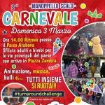 Carnevale a Manoppello Scalo il 3 marzo 2019