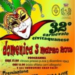 Carnevale Civitaquanese il 3 marzo 2019