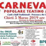 Carnevale Popolare Teatino 2019 a Chieti