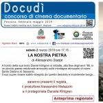 """""""La nostra pietra"""" proiezione a Pescara con regista, produttore e attore protagonista"""
