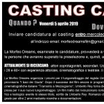 """A Pescara il casting della Morfeo Dreams per il film """"I baci dei Giuda"""""""