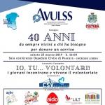 Io Tu Volontariato! Festa 40 anni dell'Avulss a Pescara